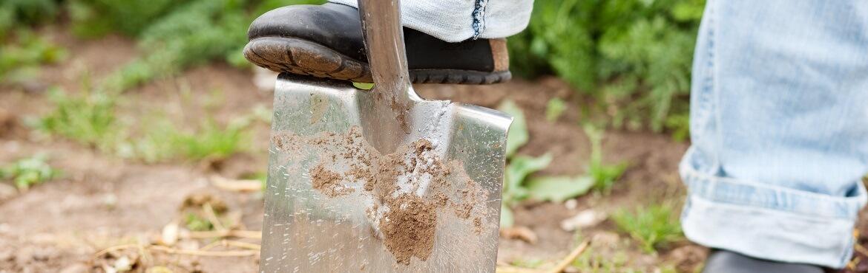 Welcher Spaten ist zum Umgraben geeignet